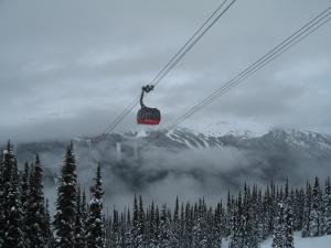 Whistler-Blackcomb's Peak 2 Peak Gondola.