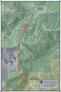 Map of the proposed gondola alignment.