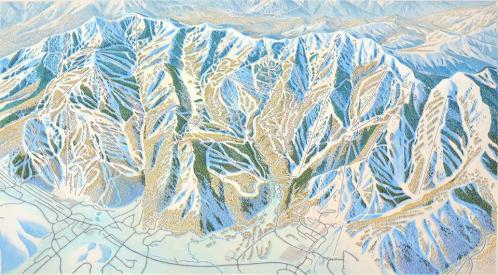 Illustration for the new Park City Mountain Resort.  Photo Credit: James Niehues