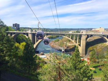 Spokane Falls SkyRide, built by Doppelmayr.