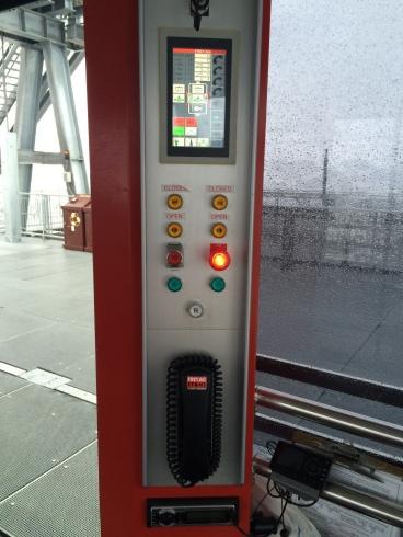 Operator controls in Car 1.