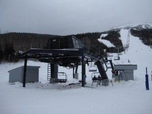 The King Pine Quad's bottom drive terminal will be replaced with a new Doppelmayr one.