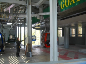 Goat's Eye has  most of the cabin storage and maintenance space.