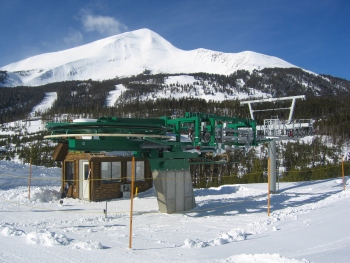 Pine Ridge base terminal, at the Yellowstone Club, MT