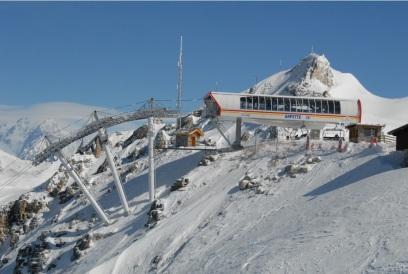 BMF detachable quad in Switzerland.