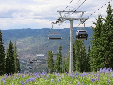 Centennial is the world's only 6/10 chondola lift.
