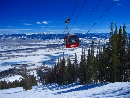 Jackson Hole's Bridger Gondola can move 2,400 passengers per hour up 2,730 feet.