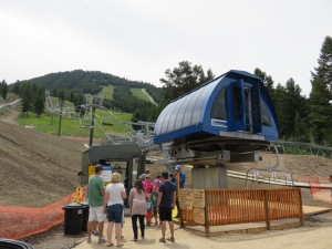 Snow King's Rafferty lift opened on July 12th.