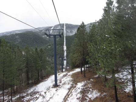 Silver Mountain's VonRoll gondola was the world's longest when it opened in 1990.