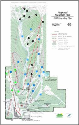 Snowbowl's master plan includes replacing and realigning several lifts.