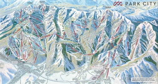 Park City Mountain's new trail map!