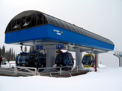 The second stage of Revelstoke's Revelation Gondola has a VTFH of over 8 million, the highest in North America.
