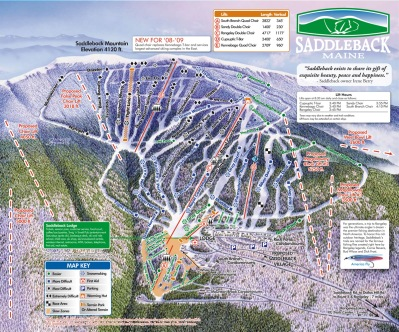 At one point Saddleback's trail map showed six planned new lifts.