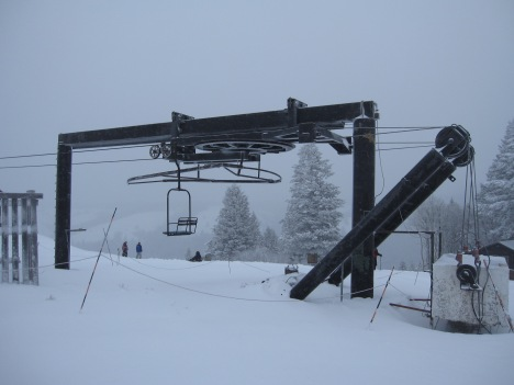 Kelly Canyon, Idaho's Summit lift is nearing 60 years old!.
