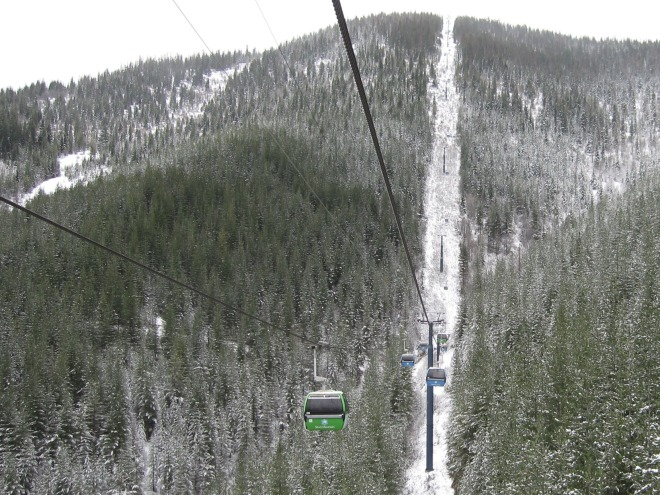 Silver Mountain's Gondola is one of only three lifts on the continent that takes more than 15 minutes to ride at design speed.