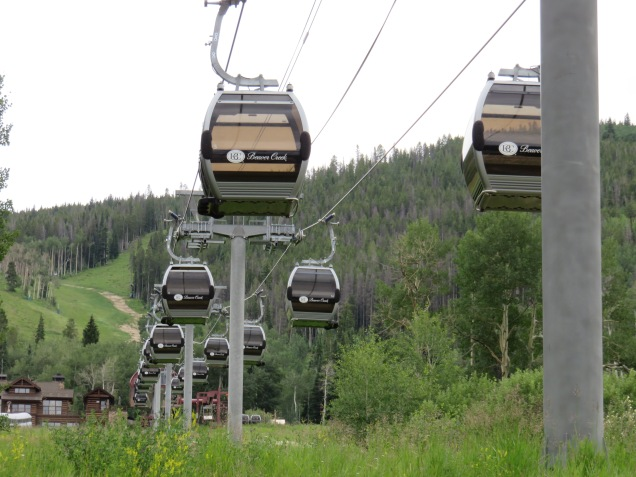 Beaver Creek's Buckaroo Gondola is among the shortest detachable lifts but makes for a perfect beginner lift.