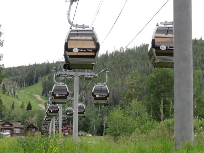 Beaver Creek's Buckaroo Gondola is among the shortest detachable lifts but makes for a perfect beginner lift.
