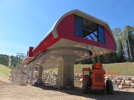 The first Uni-G terminal at Park City looks mighty nice in red and silver.