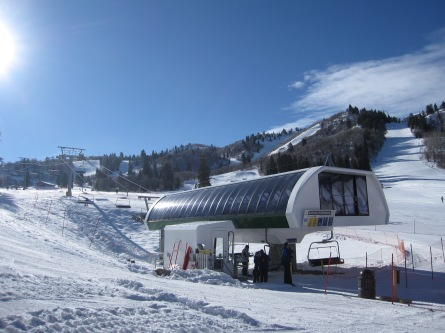 Snowbasin's Little Cat Express has only 7 towers.