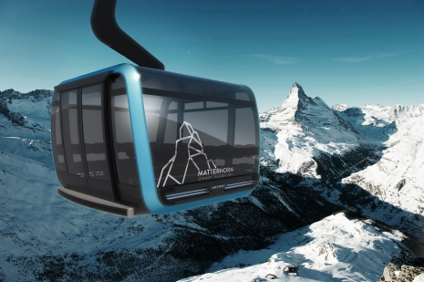 Klein Matterhorn's first 3S will be the second built by Leitner Ropeways.