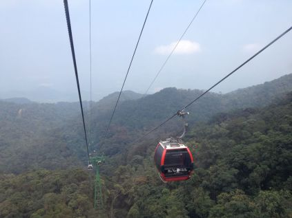 The Ba Na Cable Car in Vietnam was the world's longest when it opened. Photo credit: Doppelmayr