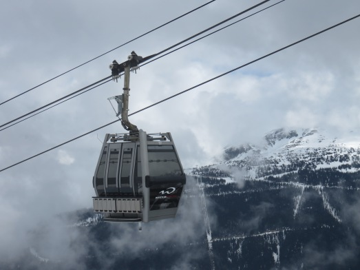 10-passenger Sigma Diamond Cabins debuted on the Whistler Village Gondola in 2014.