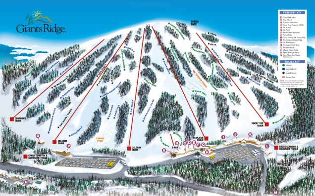 GR alpine trails poster 4442