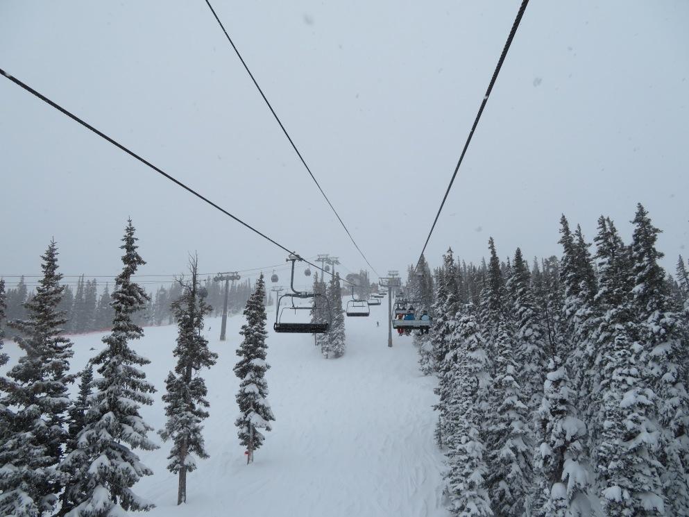 Upper lift line.