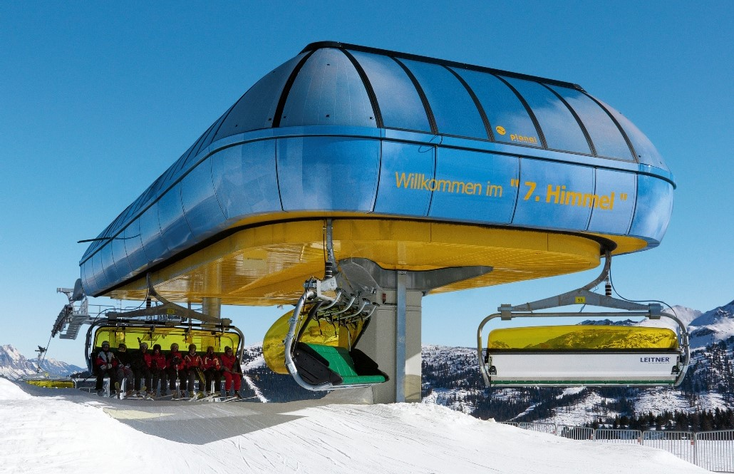 Eight New Eight Passenger Chairlifts Debuted This Ski Season, The Highest  Number In History. Twenty Years Since The Technology Debuted, Doppelmayr,  ...