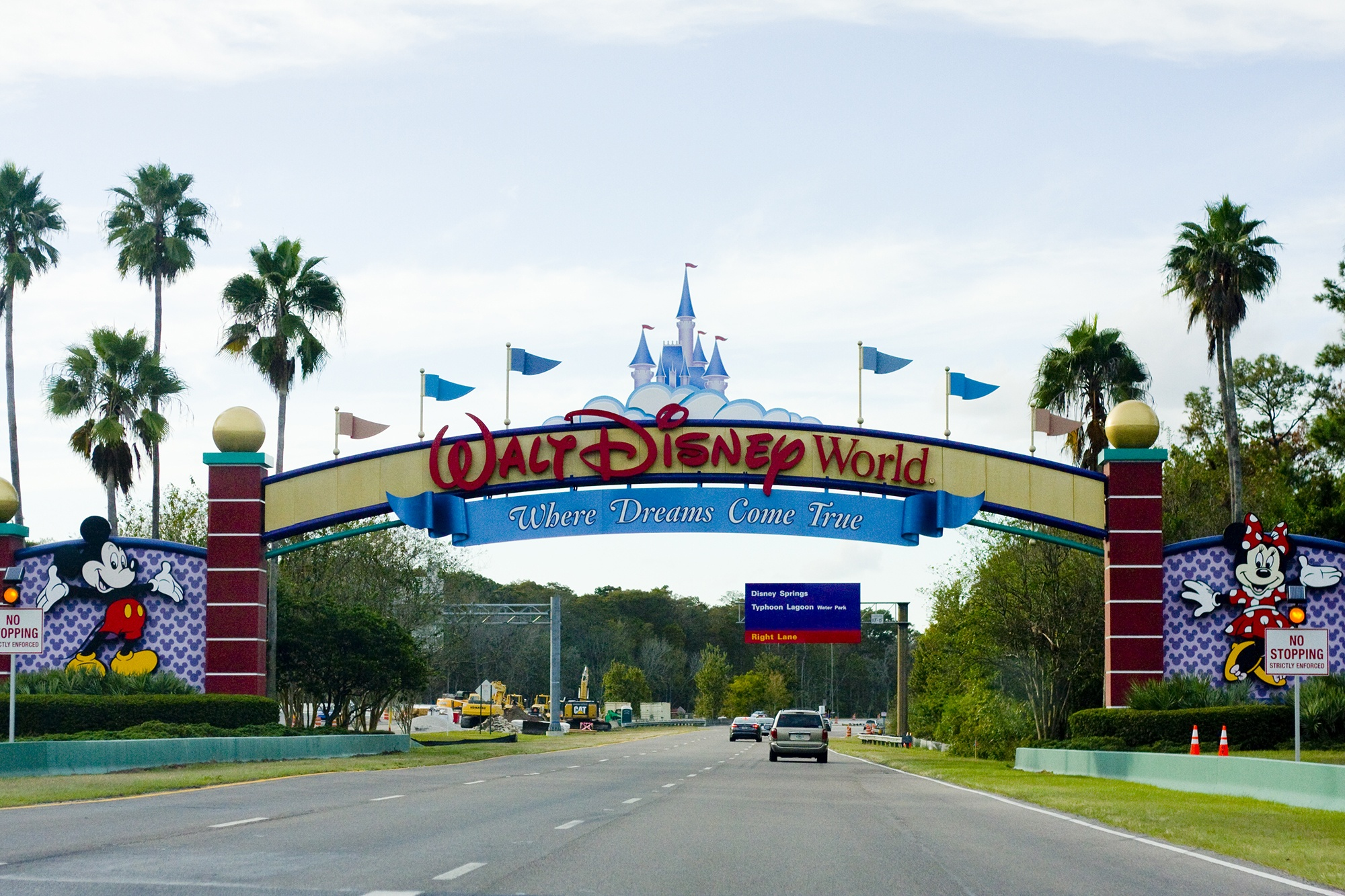 37008566 Walt Disney World Entrance