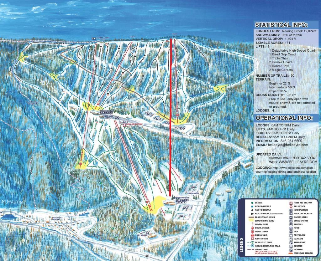 belleayre to get base-to-summit gondola – lift blog