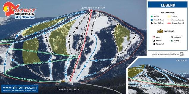 Turner Mtn Map