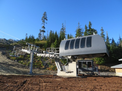 Mt. Baker Ski Area's new Chair 7 is the first on the mountain with an electric prime mover.
