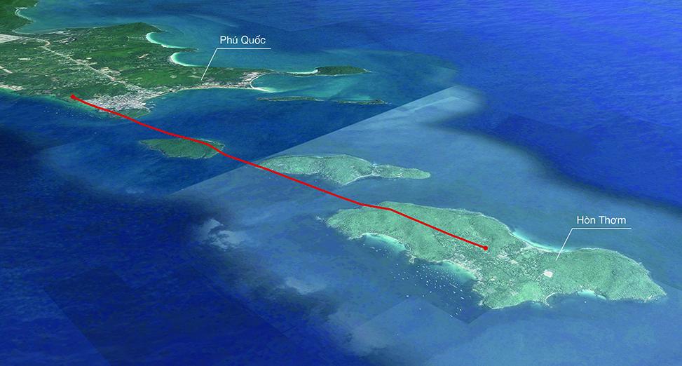 Hon Thom Phu Quoc Map