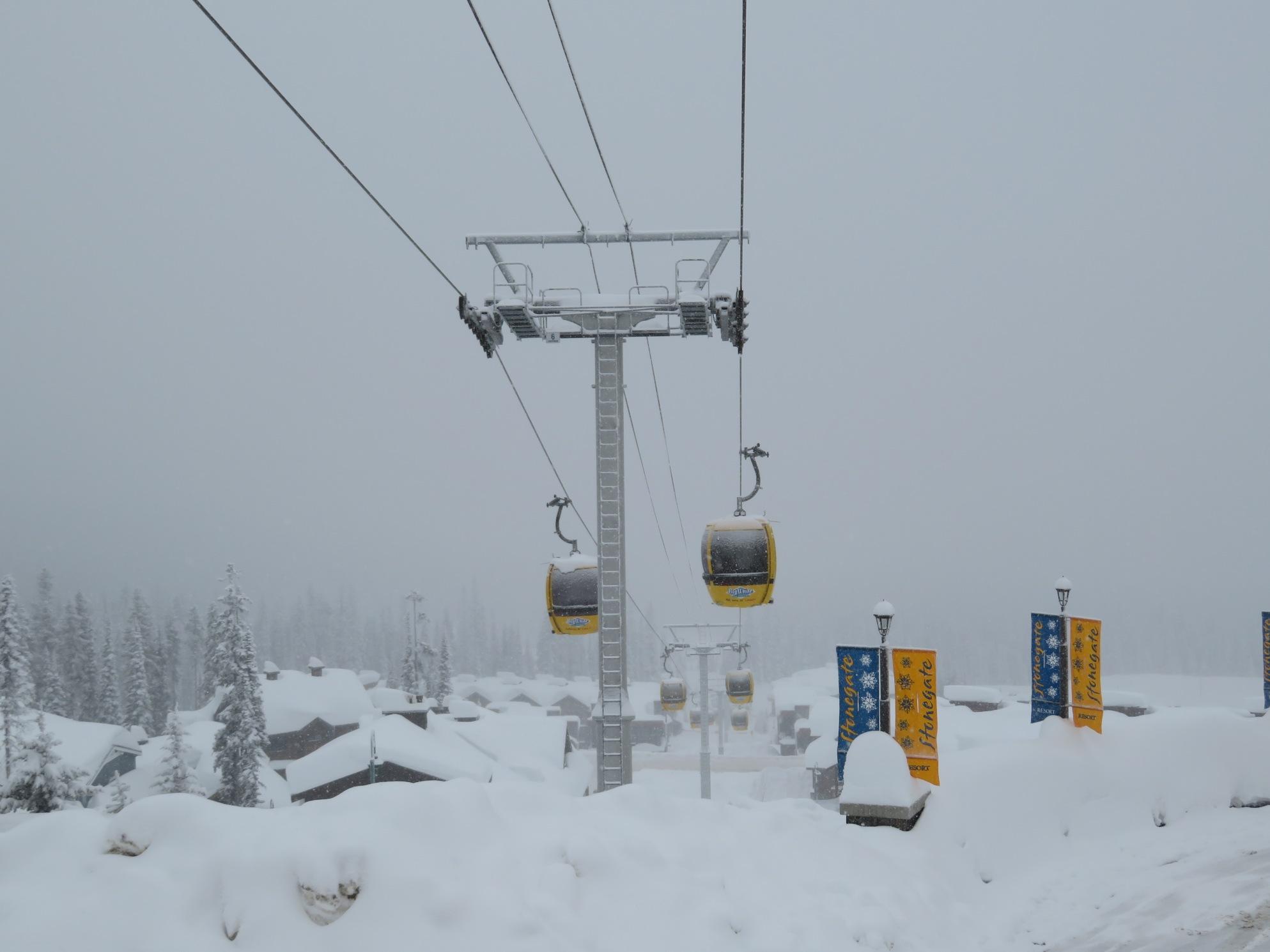 Laras Gondola - Big White, BC - Lift Blog