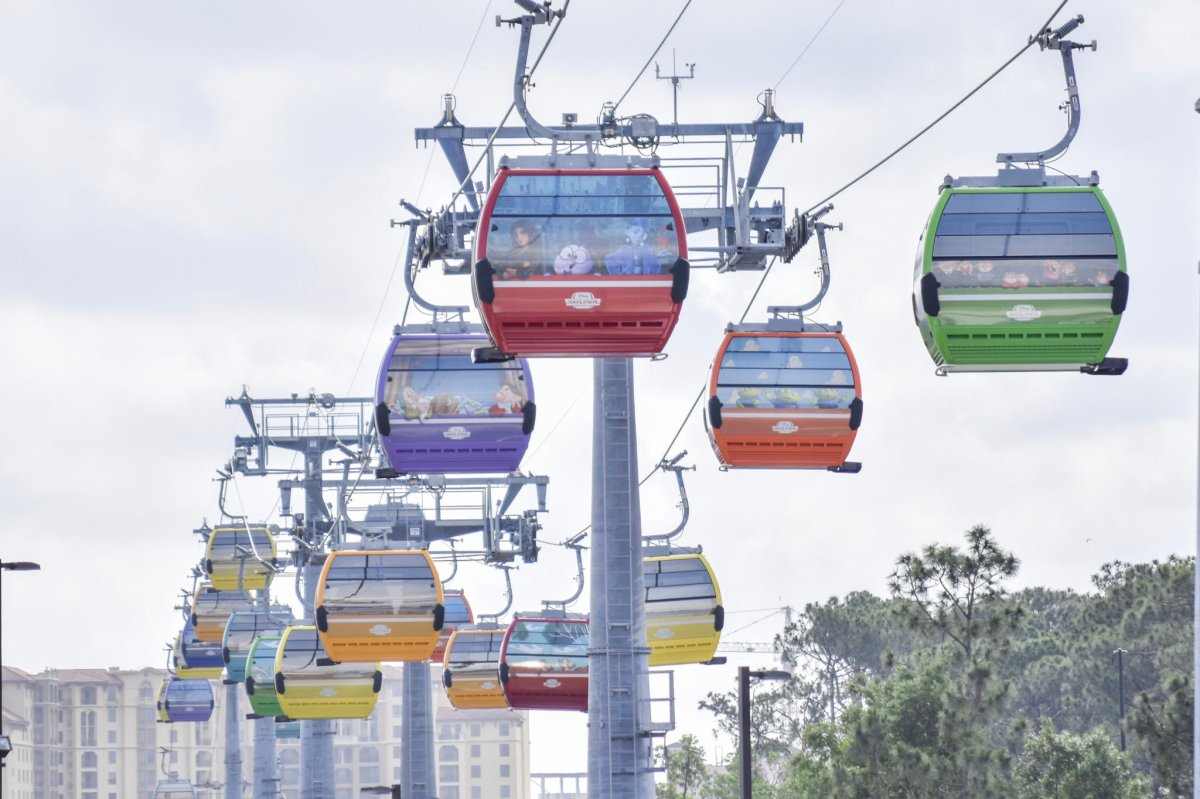 First Disney Skyliner Cabins Revealed